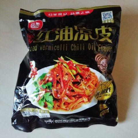 "#1575: Sichuan Baijia ""Broad Vermicelli Chili Oil Flavor"" (HongYouLiangPi)"