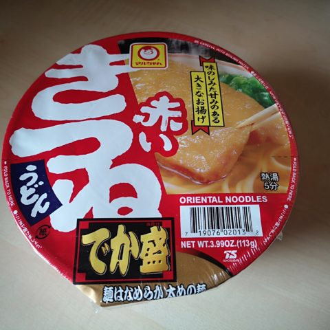 "#1639: Maruchan ""Akai Kitsune Udon"" Instant Oriental Noodles (Big Bowl)"