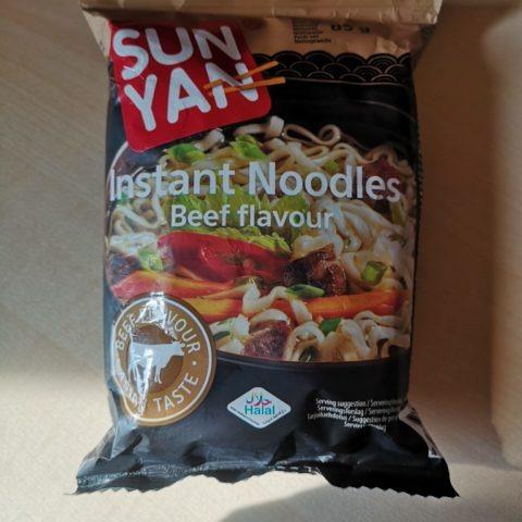 """#877: Sun Yan Instant Noodles """"Beef Flavour"""""""