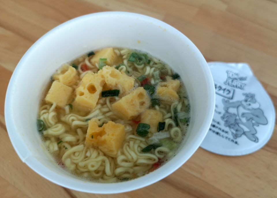 "#1829: Sapporo Ichiban CupStar ""Cheese Shio Ramen Tom and Jerry"""