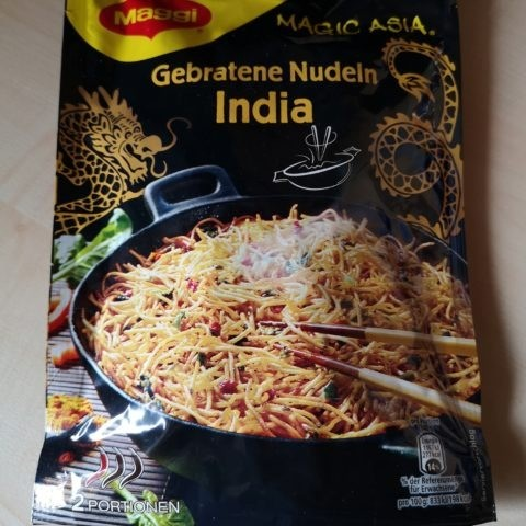 "#767: Maggi Magic Asia ""Gebratene Nudeln India"""