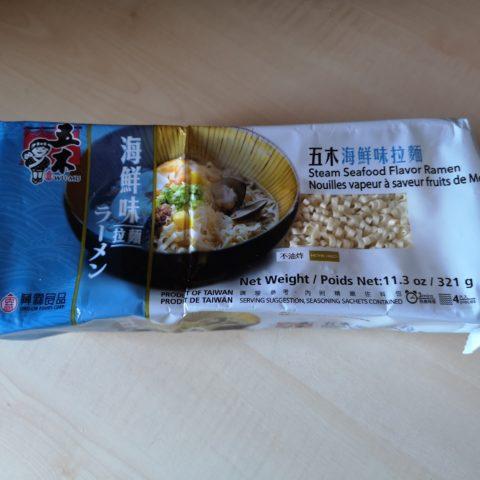 """#1833: Wu-Mu """"Steam Seafood Flavor Ramen"""""""