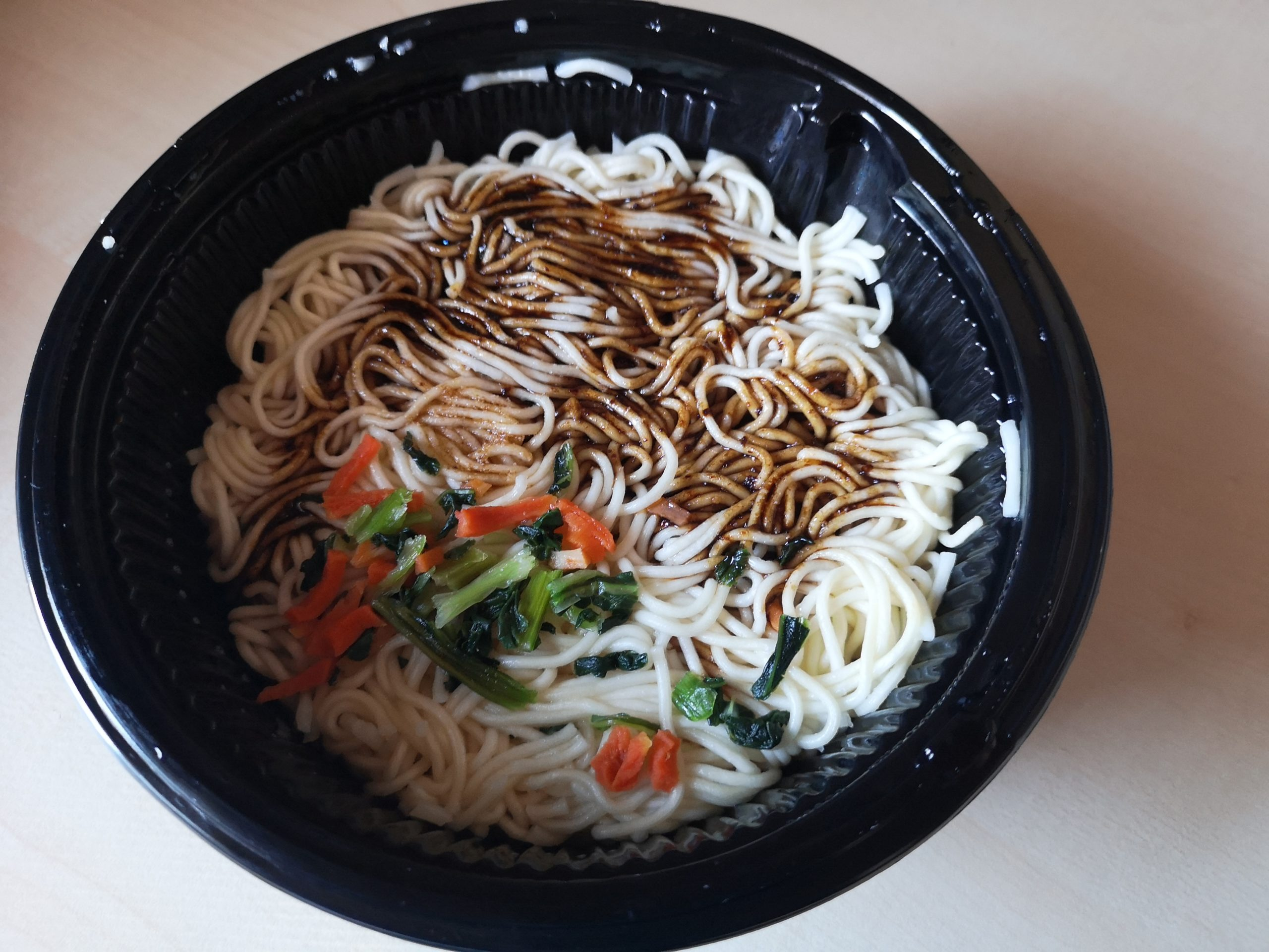 "#1834: Nissin U.F.O. ""Sichuan Style Savoury Garlic Flavour Instant Stir Fried Noodles"""