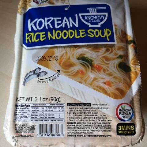 "#1836: Assi Brand ""Anchovy Flavored Korean Rice Noodle Soup"""