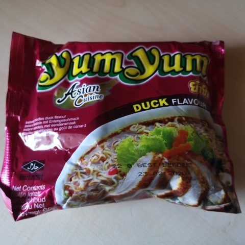 "#1837: YumYum Asian Cuisine ""Duck Flavour"""