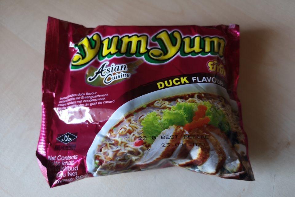 "#1837: YumYum Asian Cuisine ""Duck Flavour"""