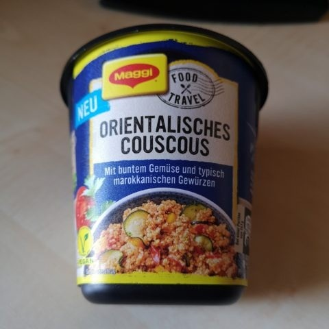 "#1839: Maggi Food Travel ""Orientalisches Couscous Marrakesch Style"""