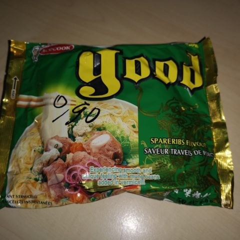 "#1840: Acecook good ""Spareribs Flavour Instant Vermicelli"""
