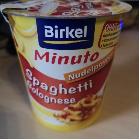 "#1848: Birkel ""Minuto Nudelpower Spaghetti Bolognese"""