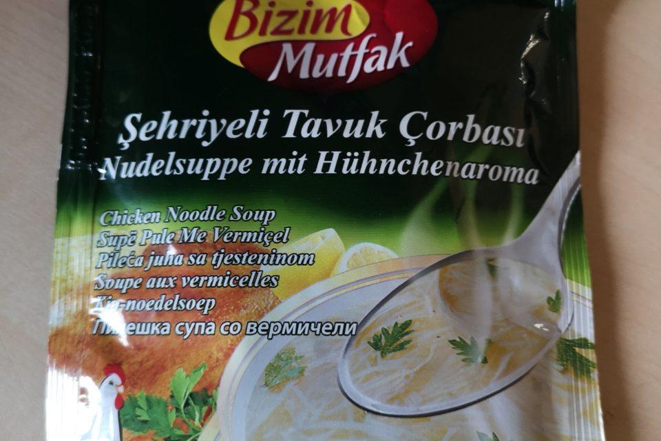 """#1850: Ülker Bizim Mutfak """"Şehriyeli Tavuk Çorbasi"""" (Nudelsuppe mit Hühnchenaroma)"""