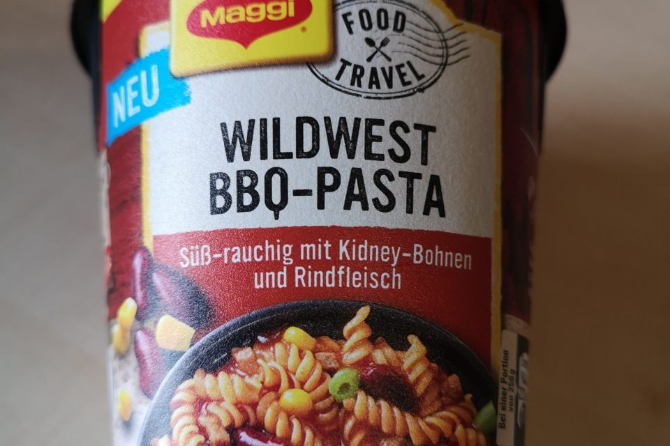 "#1851: Maggi Food Travel ""Wildwest BBQ-Pasta Texas Style"""