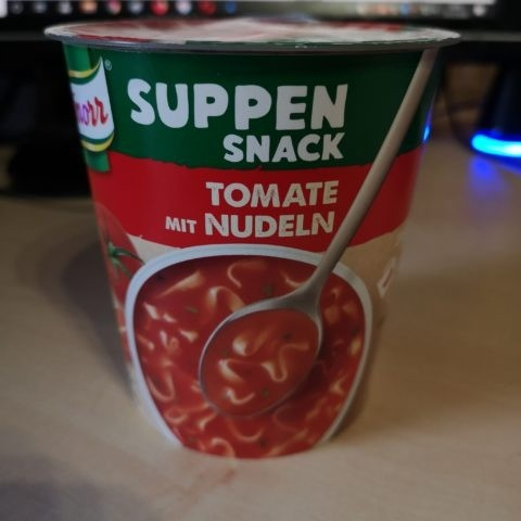 "#1854: Knorr Suppen Snack ""Tomate mit Nudeln"""