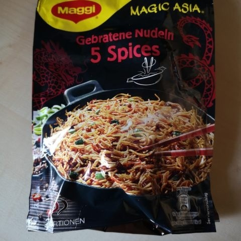 "#1860: Maggi Magic Asia ""Gebratene Nudeln 5 Spices"" (2020)"
