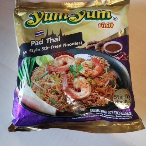 "#1862: YumYum ""Pad Thai"" (Thai Style Stir-Fried Noodles)"