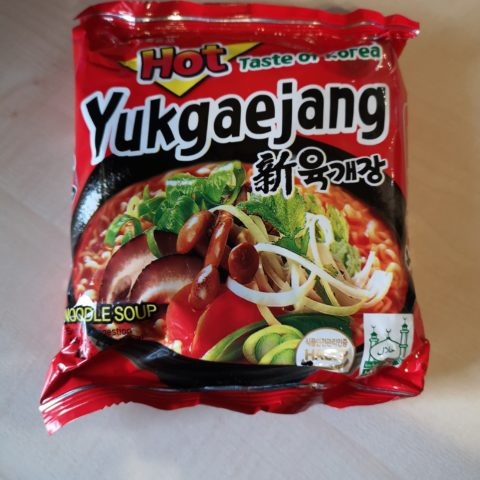 "#1863: Samyang ""Taste of Korea"" Hot Yukgaejang Noodle Soup"