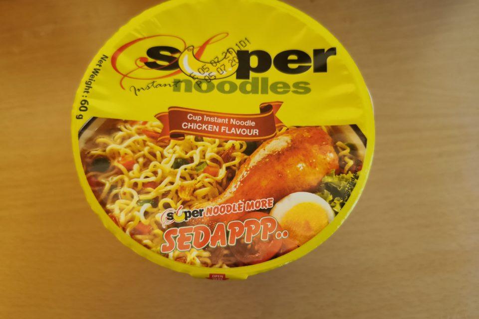 """#1868: Super Instant Noodles """"Cup Instant Noodle Chicken Flavour"""""""