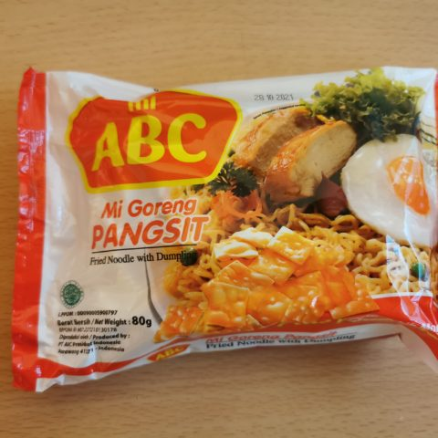 "#1872: mi ABC ""Mi Goreng PANGSIT"" (Fried Noodle with Dumpling)"
