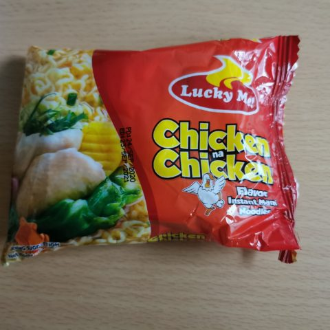 "#1874: Lucky Me! ""Chicken na Chicken Flavor Instant Mami Noodles"""