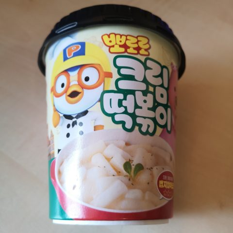 "#1869: Pororo Instant Cup ""Tteokbokki Stir-Fried Rice Cake JJajang Cream Snack"""