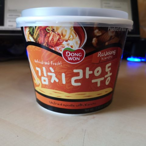 """#1875: Dong Won """"RaUdong Kimchi"""""""