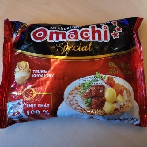 """Omachi Special """"Bò Hầm Xốt Vang"""""""