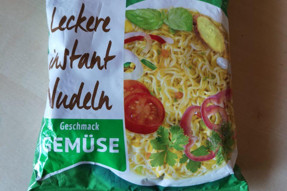 """#1905: Reeva """"Leckere Instant Nudeln Geschmack Gemüse"""""""