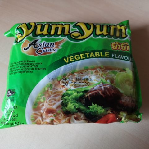 "#1910: YumYum Asian Cuisine ""Vegetable Flavour"" (2021)"