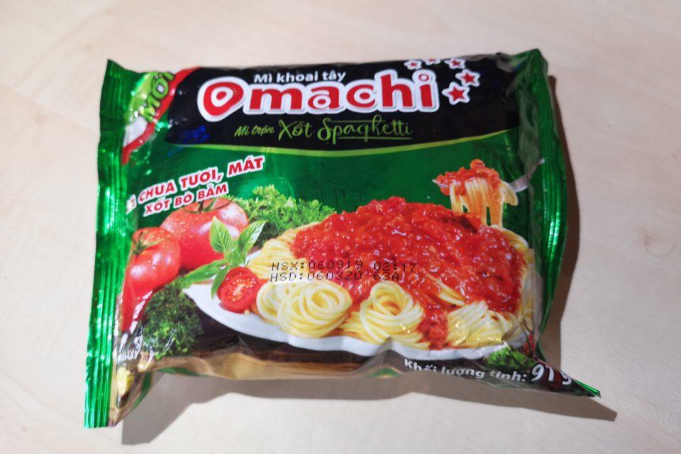 """#1933: Omachi """"Mì Trộn Xốt Spaghetti"""""""