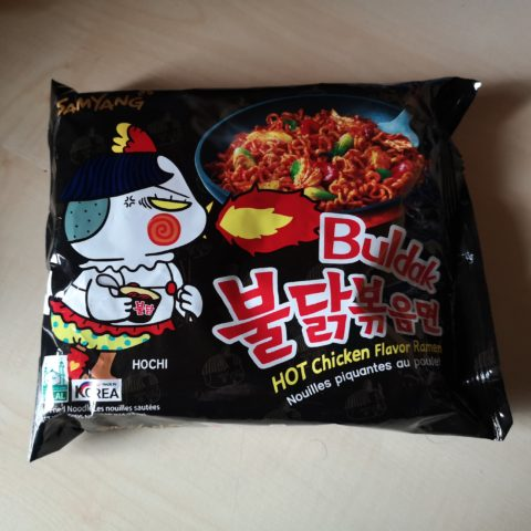 "#1864: Samyang ""Buldak Bokkeummyun"" Hot Chicken Flavor Stir Fried Noodle (2021)"