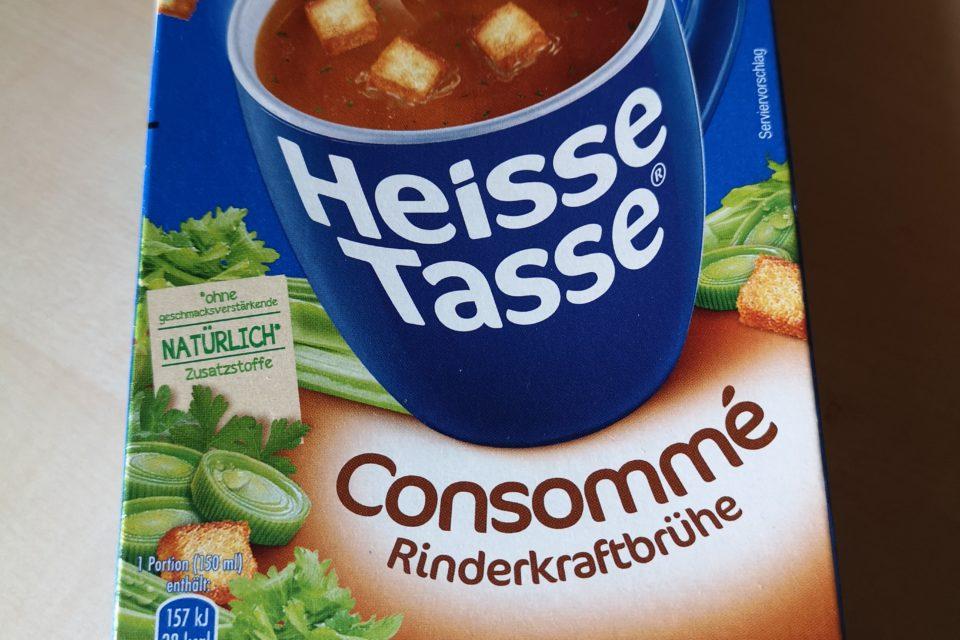 "#540: Erasco Heisse Tasse ""Consommé-Rinderkraftbrühe"""