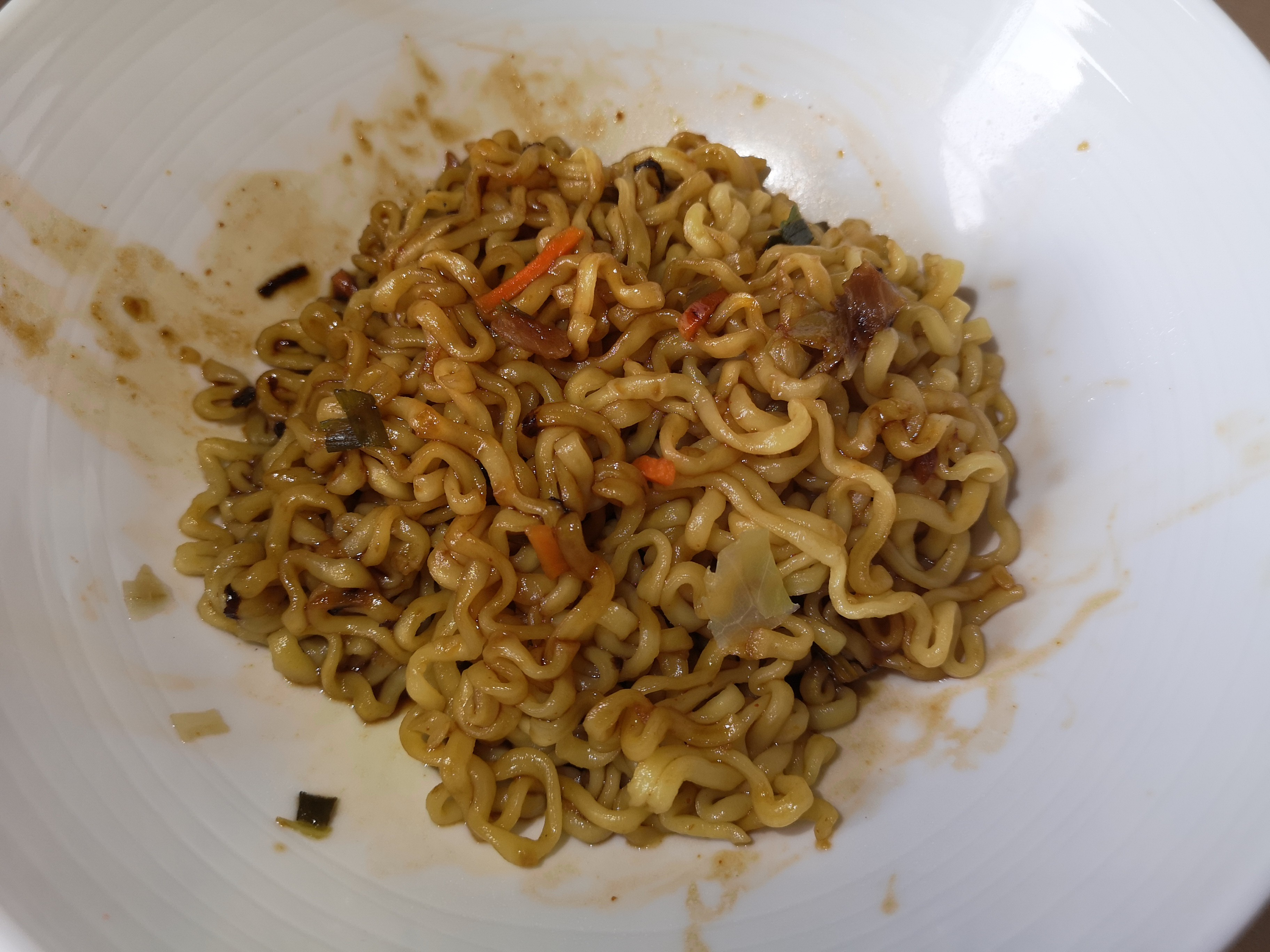 """#1947: Paldo """"Stir-Fried Chicken Noodle (with Spicy Soy Sauce)"""" (Artificial Chicken & Beef Flavour)"""