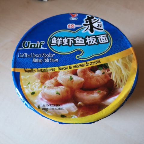 "#1964: Unif ""Bowl Instant Noodles - Shrimp Fish Flavor"""