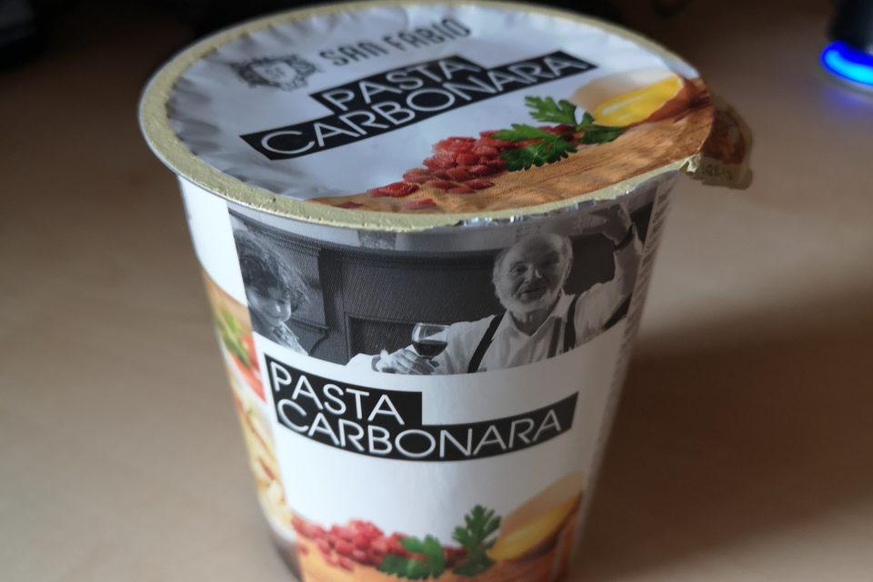 """#1967: San Fabio """"Pasta Carbonara"""""""