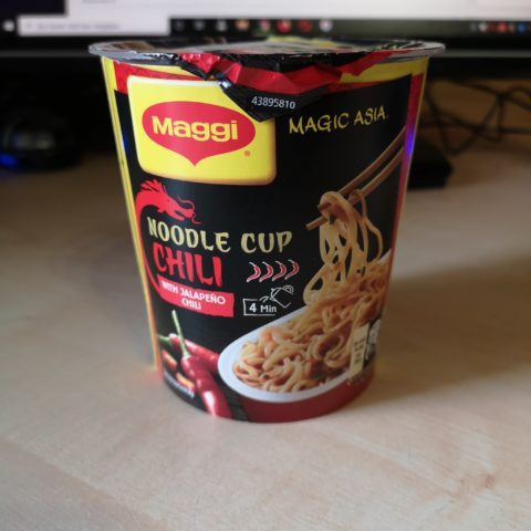 "#1968: Maggi Magic Asia ""Noodle Cup Chili"" (2021)"