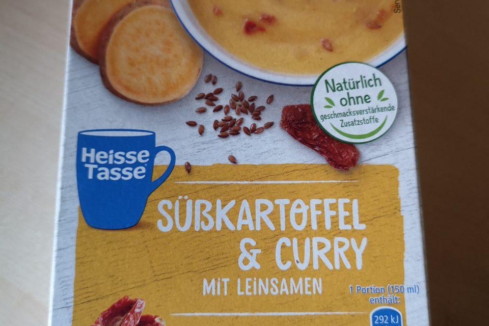"""#1973: Erasco Heisse Tasse """"Süßkartoffel & Curry mit Leinsamen"""""""