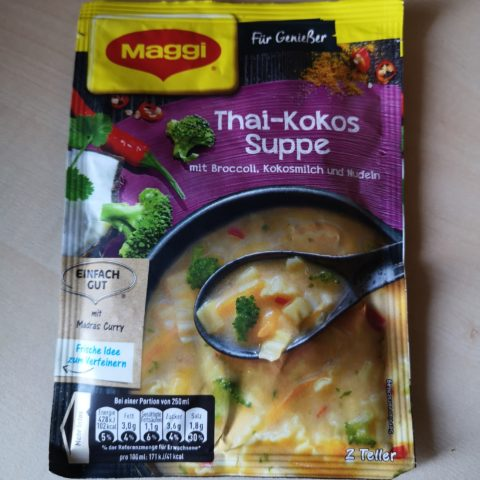 "#1981: Maggi ""Thai-Kokos Suppe"""