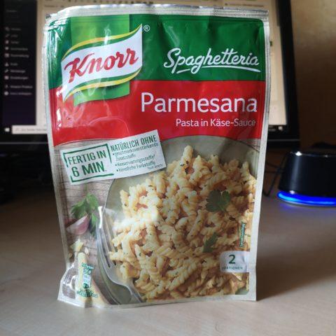 "#1982: Knorr Spaghetteria ""Parmesana"" (Pasta in Käse-Sauce)"