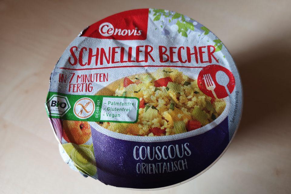 """#1990: Cenovis Schneller Becher """"Couscous Orientalisch"""""""