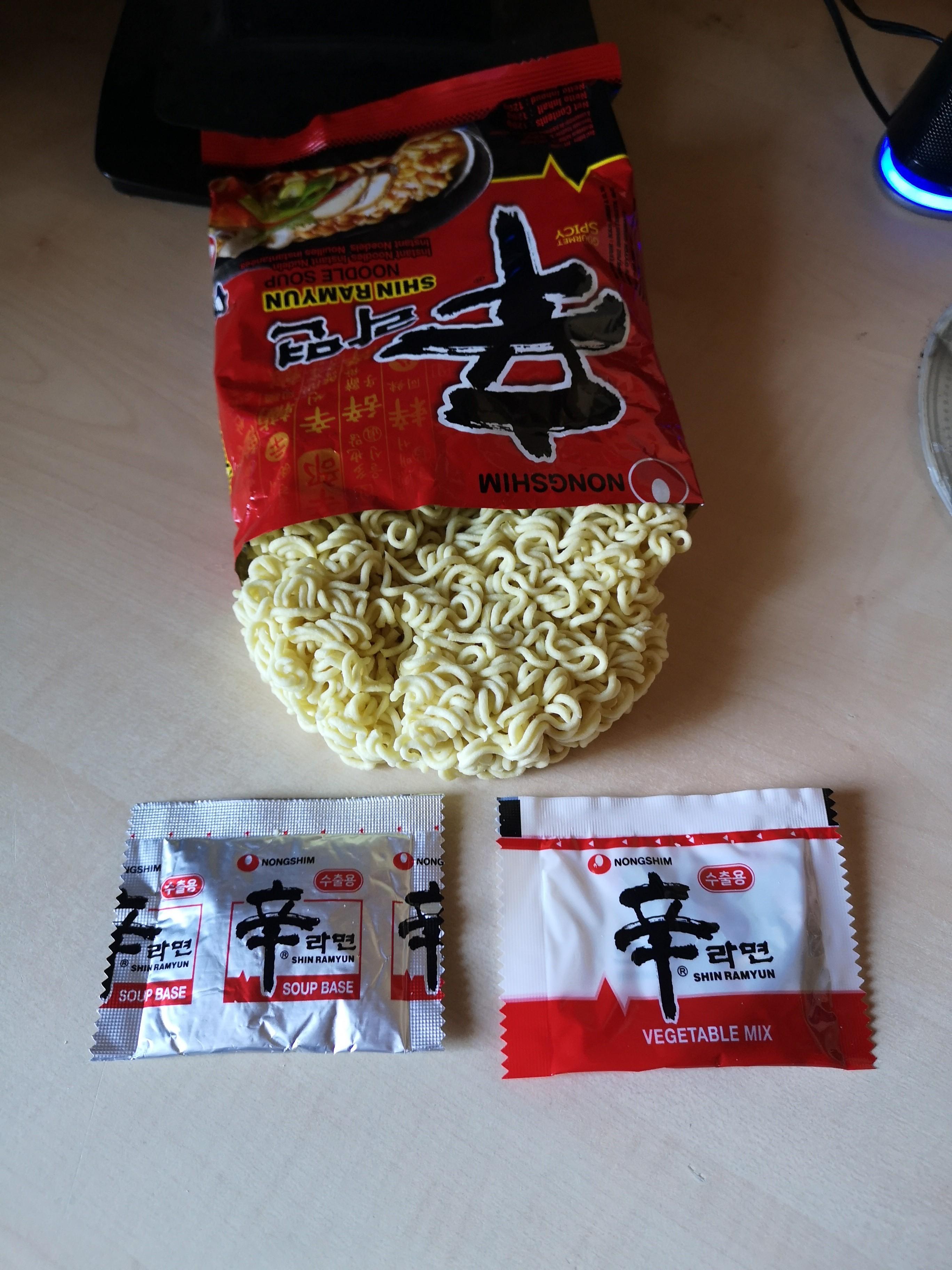 "#1997: Nongshim ""Shin Ramyun Noodle Soup"""
