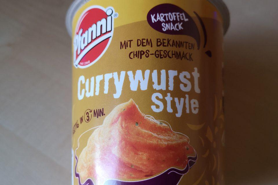 """#2016: Pfanni Kartoffel Snack mit dem bekannten Chips-Geschmack """"Currywurst Style"""""""