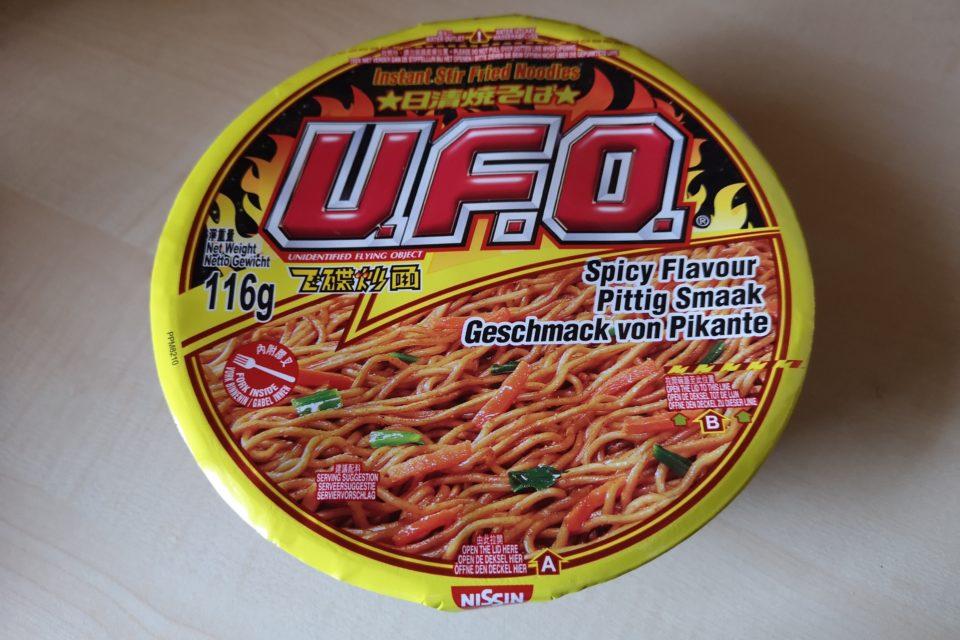 "#2019: Nissin U.F.O. ""Spicy Flavour Instant Stir Fried Noodles"""