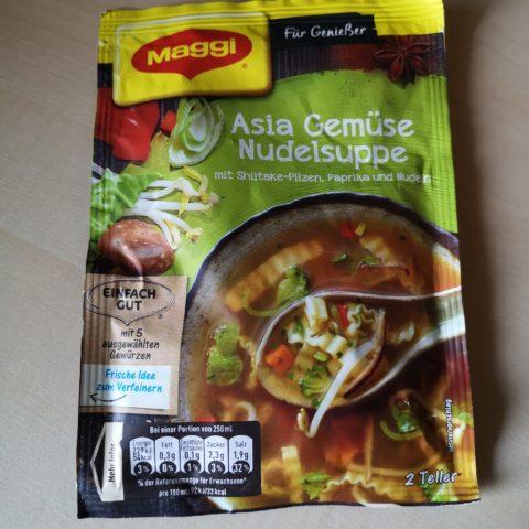"#2020: Maggi ""Asia Gemüse Nudelsuppe"""