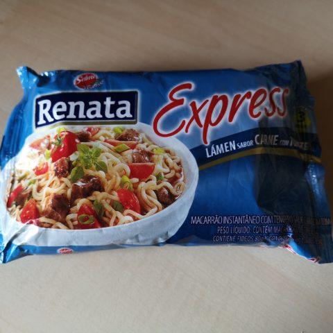 "#2033: Selmi ""Renata Express Lámen Sabor Carne Com Tomate"""