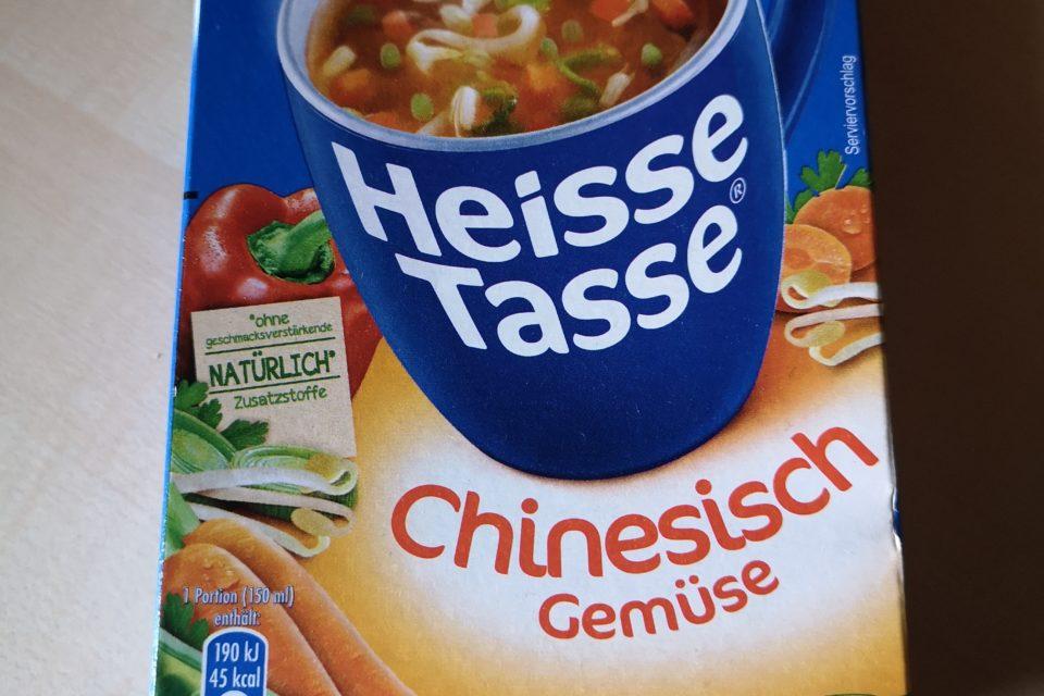 """#2035: Erasco Heisse Tasse """"Chinesisch Gemüse"""""""