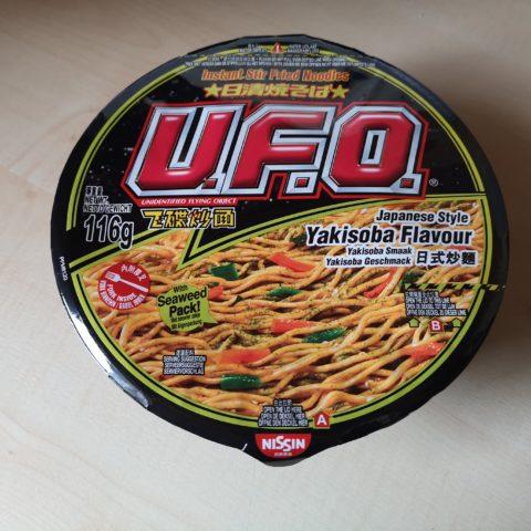 "#2042: Nissin U.F.O. ""Japanese Style Yakisoba Flavour Instant Stir Fried Noodles"""