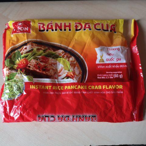 "#2114: Vifon ""Bánh đa Cua"" Instant Rice Pancake Crab Flavor"