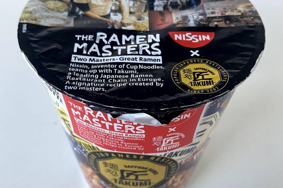 """#1914: Nissin x Takumi """"The Ramen Masters Special Miso Ramen"""""""