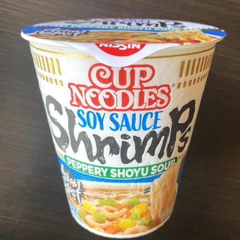 Nissin Cup Noodles Soy Sauce Shrimps