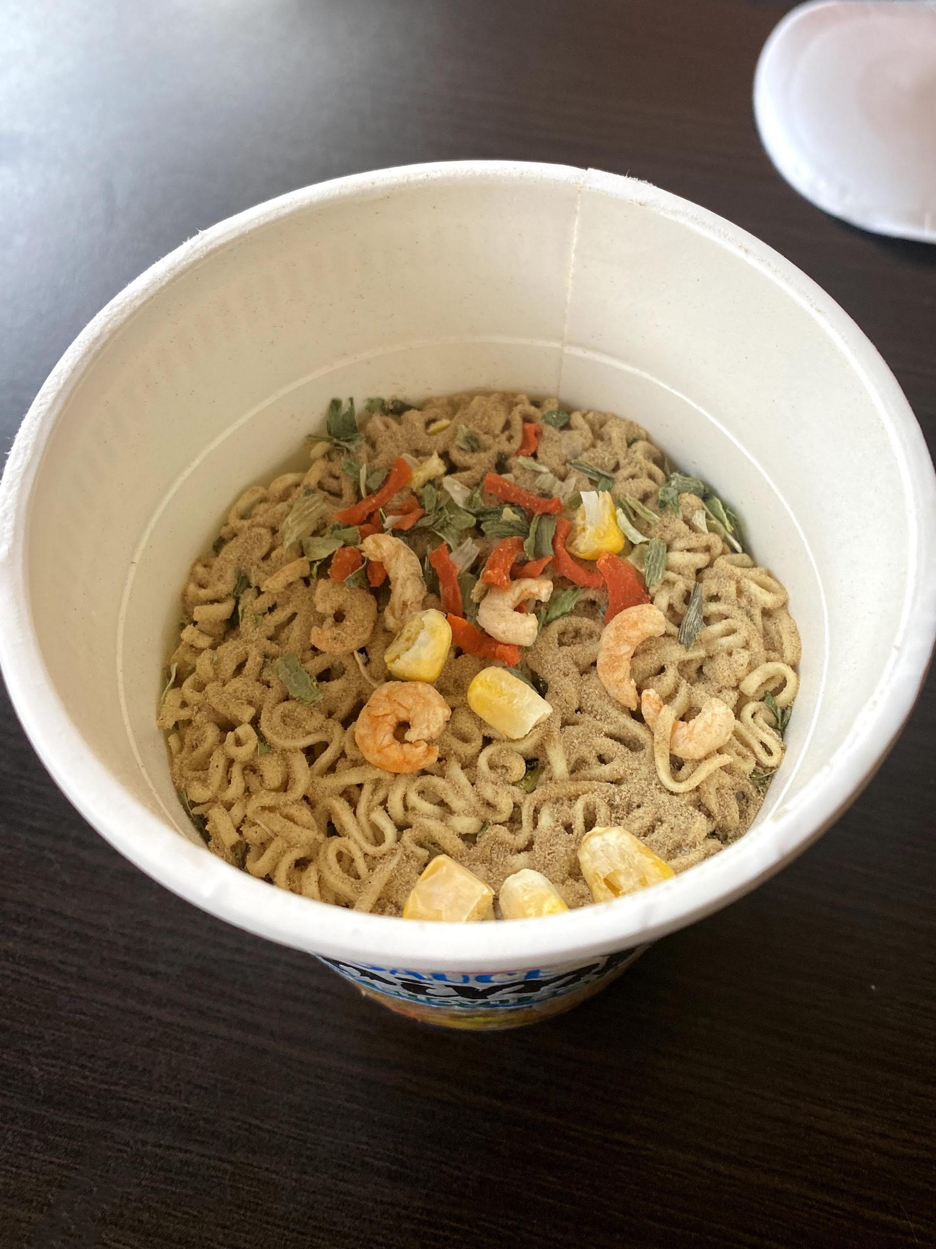 """#1918: Nissin Cup Noodles """"Soy Sauce Shrimps"""" (2021)"""