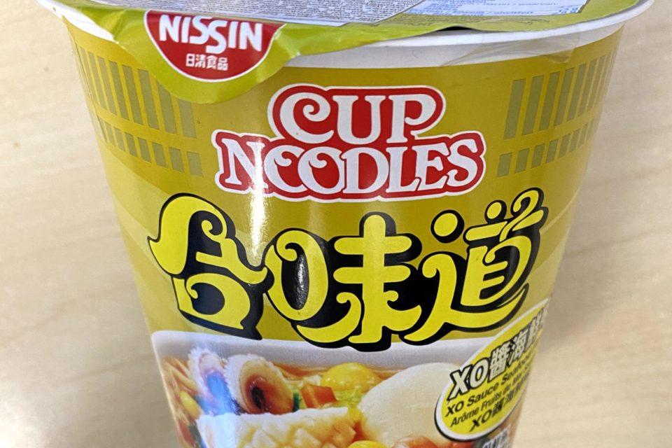Nissin Cup Noodles XO Sauce Seafood Flavor